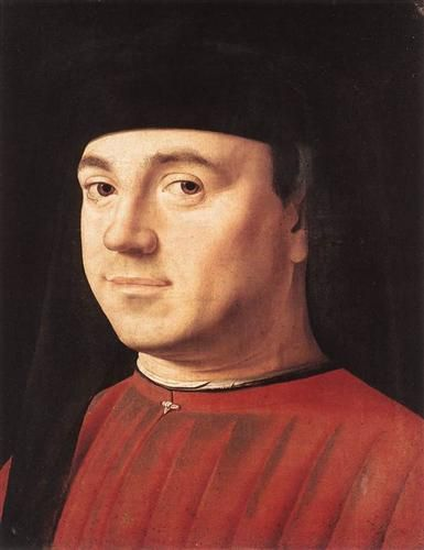 Portrait of a Man - Antonello da Messina: