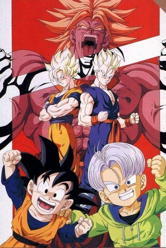 Dragón Ball Z El Regreso De Broly 12 De Marzo De 1994 Pelicula Dragon Ball Art Dragon Ball Super Manga Dragon Ball