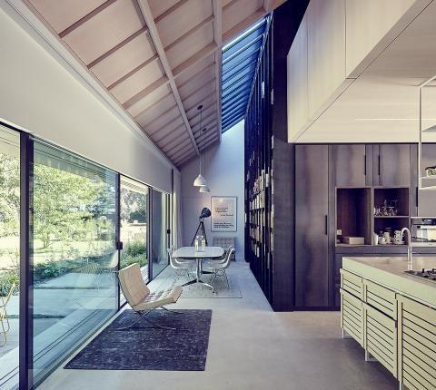 Schicke Boden Bodenbelage In Architektenhausern Schoner Wohnen Haus Design Haus Interieu Design Haus Bodenbelag