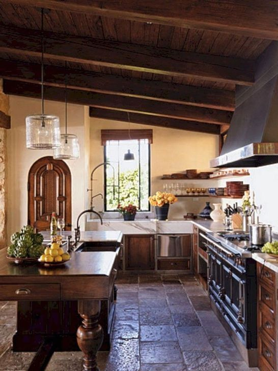 30 Cute Italian Style For Your Kitchen Design Ideas In 2020