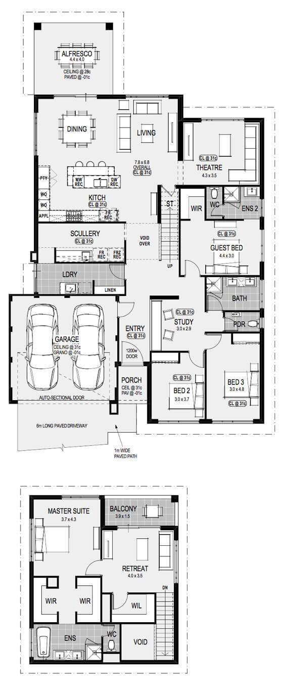 The Minnesota Floorplan House Floor Plans New House Plans House Design