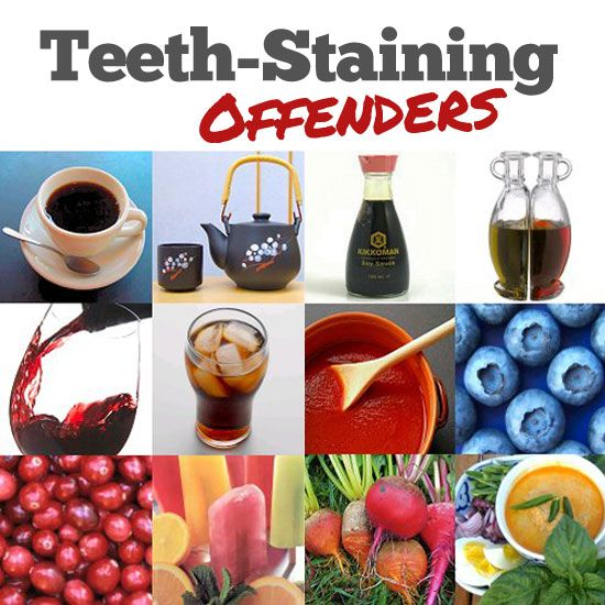 Here are some foods and drinks that may cause your pearly whites to not look so pearly anymore! We provide ZOOM Whitening to remove those pesky stains!