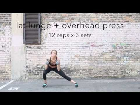 total body tabata with dumbbells | nourish move love