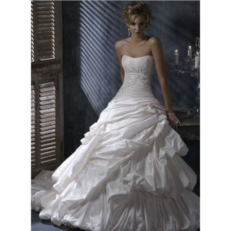 bridal gown for winter wedding