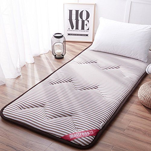 Thicken Non Slip Futon Mattress Double Ultra Soft Fitted Mattress Pad Sleeping Mat Single Folding Mattress Dormito Mattress On Floor Folding Mattress Mattress