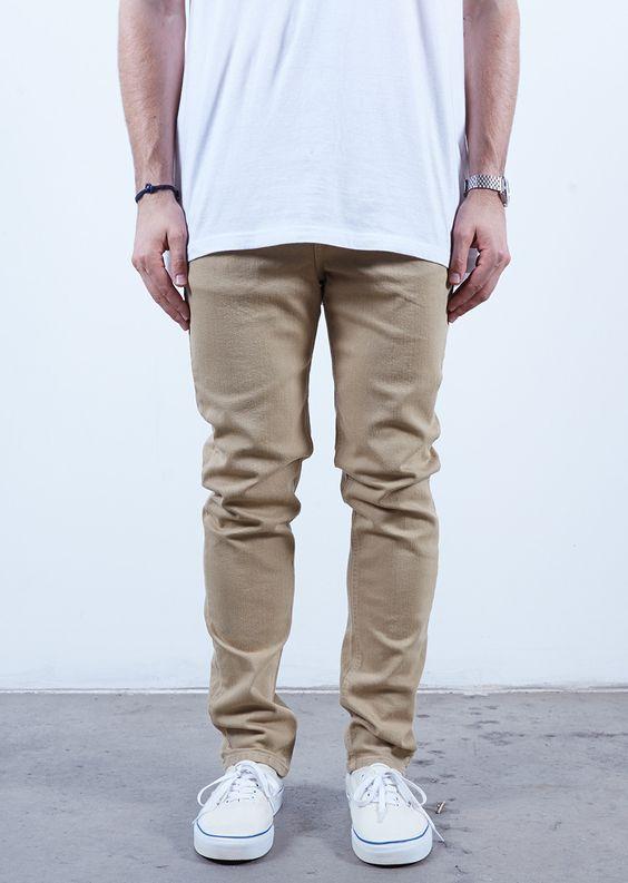 Khaki | Skinny Fit