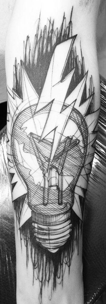 léa nahon, tattoo