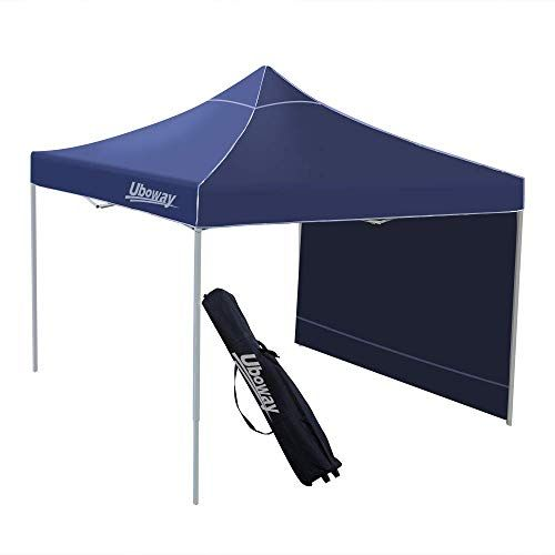 New Uboway 10x10 Ft Pop Up Canopy Outdoor Instant Canopy Tent Waterproof Air Circulation Shelter With Side Wa Canopy Outdoor Canopy Tent Canopy Tent Outdoor