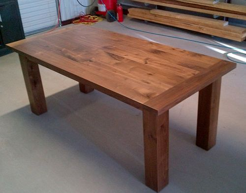 Custom Made Black Walnut Dining Tables | Custom Furniture Maker | For The  Home | Pinterest | Farms, Furniture Makers And Rustic