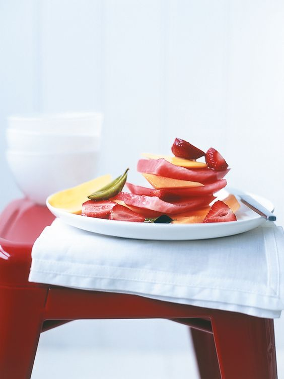 Fruit salads, Syrup and Limes on Pinterest