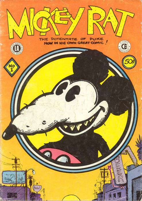 Robert Armstrong. Mickey Rat #1. 1972