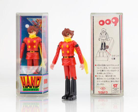 Takatoku Cyborg 009 (サイボーグ009). #Takatoku #タカトク #Cyborg009 #サイボーグ009 #Pla #anime #manga #japan #vintagetoys #japanesetoys #cyborg