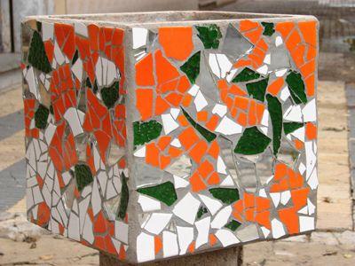 imagenes de maceta con mosaicos - Google Search
