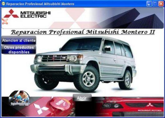 Manual De Taller Y Reparacion Mitsubishi Montero 1996 2000 Suv Car Suv Car