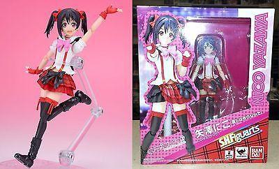 S.H. Figuarts Nico Yazawa Love Live! Bokura ha Ima no Naka de Bandai Licensed NW