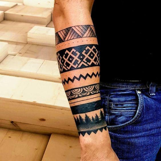 536 Tatuajes De Brazaletes Maories Hombre Mujer