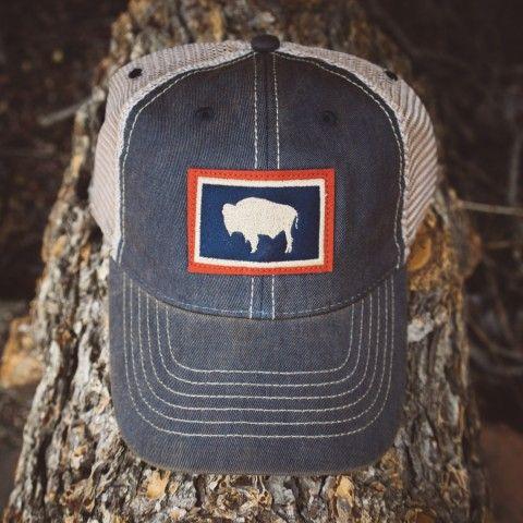 Buffalo Jackson Vintage Trucker Hat - Colorado Flag