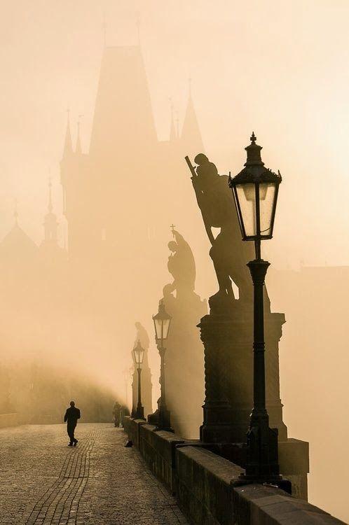 Puente de Carlos, Praga (República Checa) Casi casi tal y como lo recuerdo...
