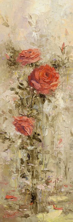 Whatever you want: Oil Paintings, Floral Paintings, Painting Flowers, Flower Art, Rose Paintings, Art Flowers, Flowers Art