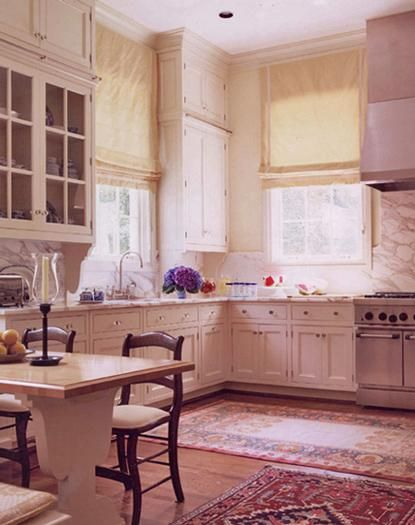 The ultimate shout out to white kitchens- The Enchanted Home
