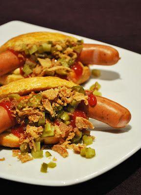 Selbstgemachte Hot Dog Brötchen