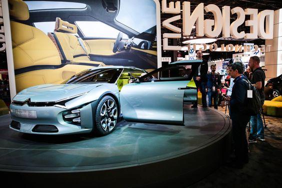 Le concept-car Citroën CXPERIENCE #MondialAuto Crédits photo : Bitton