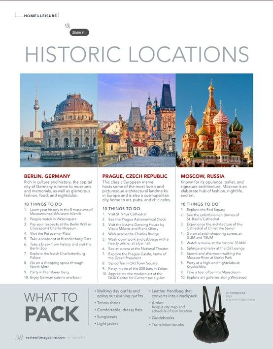 Vacation Destinations for the History Buff. Check out reviewit's other Great Escape vacation destinations.