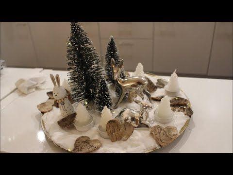 Diy Teller Weihnachtlich Dekorieren Weihnachtsdeko Gestalten