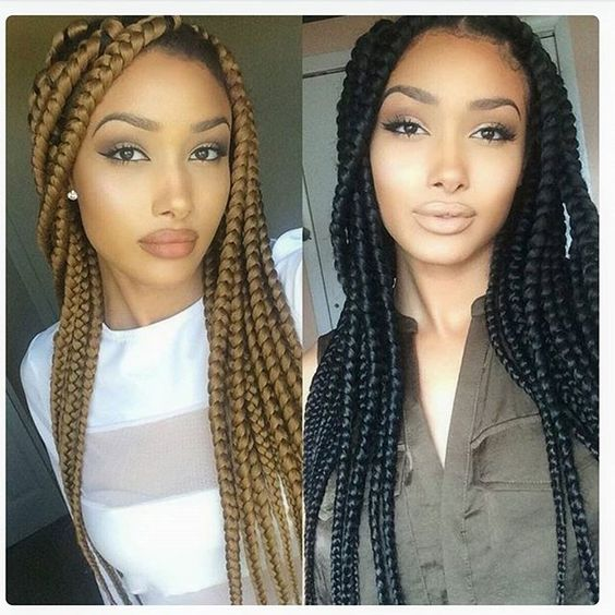 Make Your Own Crochet Box Braids : Beautiful, Beautiful braids and Braids on Pinterest