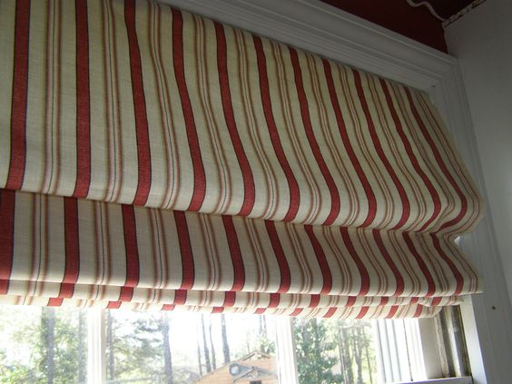 Traditional Roman Shades - You pick fabric.