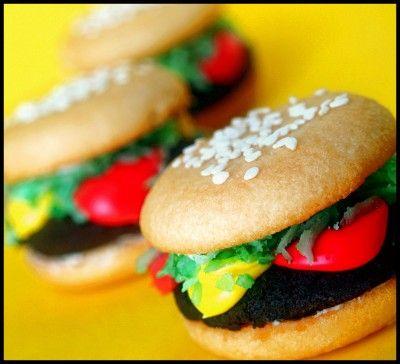 Oreo Cakester Burgers