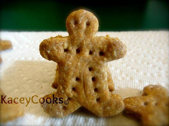 KaceyCooks: KaceyCooks: Crunchy Mailmen- (Dog Treats) Non-GMO