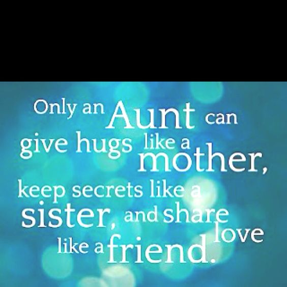 To my nieces and nephews.
