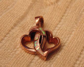 Vintage Sterling Fire Opal Heart Pendant Opal Pendant Opal Jewelry Heart Pendant Heart Jewelry Vintage Heart Antique Jewelry
