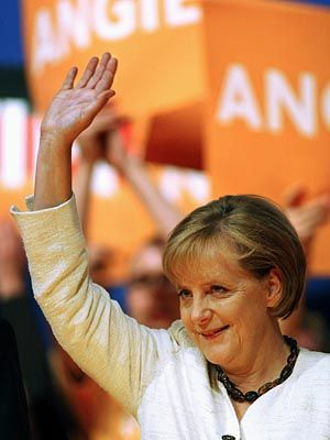 Above all it is important to point out that we can only maintain our prosperity in Europe if we belong to the most innovative regions in the world. Angela Merkel: