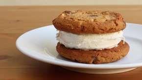 Como fazer um sanduíche de sorvete perfeito