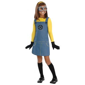 Child Girls Minion Costume  #Child #Costume #Girls #GirlsHalloweenCostumes #Minion Halloween Spirit