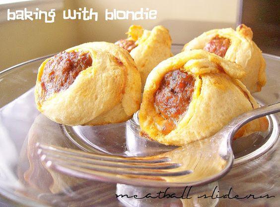 Baking with Blondie: Meatball Sliders