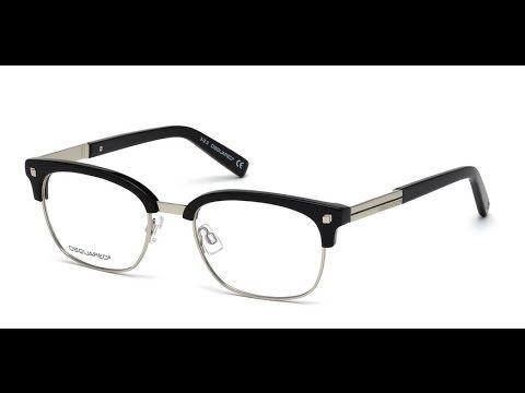 DSquared DQ5148  Eyeglasses 001 Black