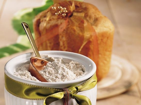 Homemade Wheat Bread Machine Mix #HomemadeGift #DIY