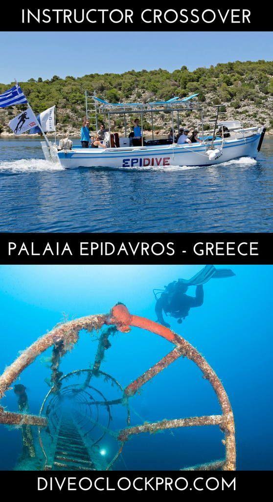 Padi Dive Instructor Crossover Course Palaia Epidavros Greece Scuba Travel Best Scuba Diving Diving Course