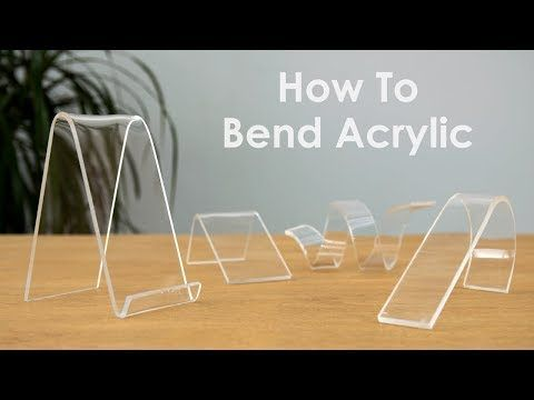 In This Tutorial I Ll Show You How To Bend Acrylic And I Ll Share With You A Few Useful Tips I Ve Learned Along The W In 2020 Acrylic Acrylic Furniture Plexus Products