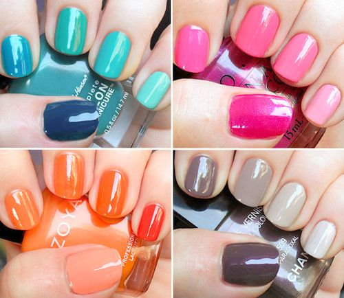ombre nails, love it