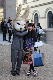 surreal crochet - Google Search bizarre guerilla crochet performance artist grabbing unsuspecting victims on the street , what a freaky easter bunny that would be to meet this year...yarn art gone mad