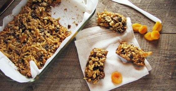 These fruit and nut bars are perfect for an on-the-go breakfast, afternoon snack, or even dessert!