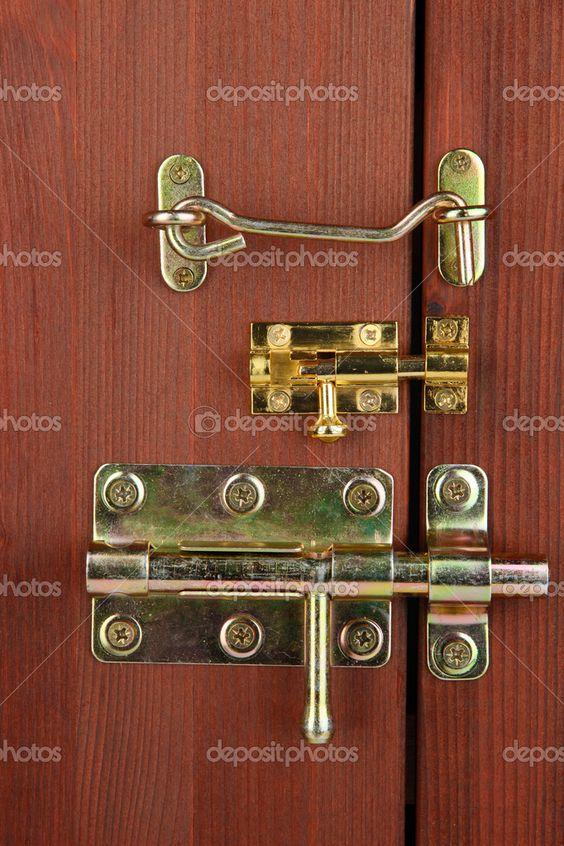fecho gancho portao madeira antigo - Google Search