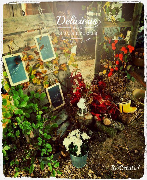 ... au Jardin  douceur automnale  Pinterest  D, Nature and Decoration