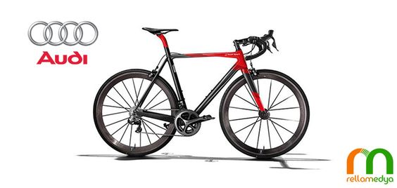 Audi'den 790 gramlık bisiklet... Devamı : http://www.rellablog.com/audiden-790-gramlik-bisiklet/ #Rellamedya #Teknoloji #Haber #Audi