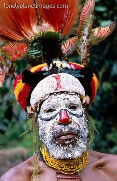 Komoka Tribe.  Mt Hagen, Western Highlands, Papua New Guinea