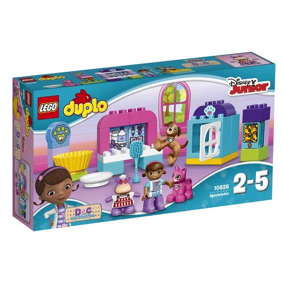 Lego Duplo Doc McStuffins Tierpflegesalon 10828